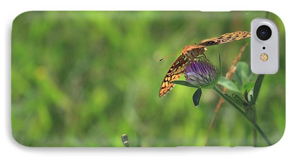Butterfly On Clover IPhone Case