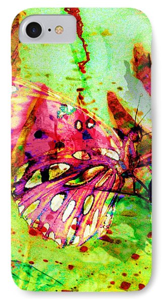 Butterfly That Was A Muscian IPhone Case