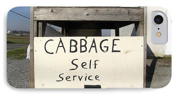 Cabbage Self Service IPhone Case