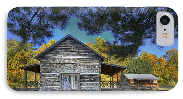 Cabin At Yellow Creek IPhone Case