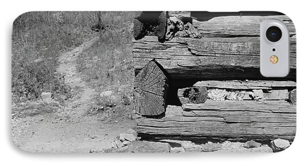 Cabin Construction, 1935 IPhone Case