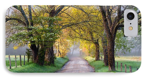 Cades Cove Great Smoky Mountains National Park - Sparks Lane IPhone Case