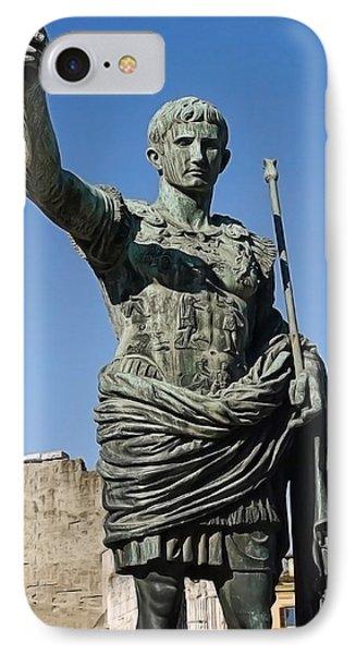Caesar Statue 1 IPhone Case