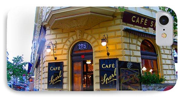 Cafe Sperl Vienna IPhone Case