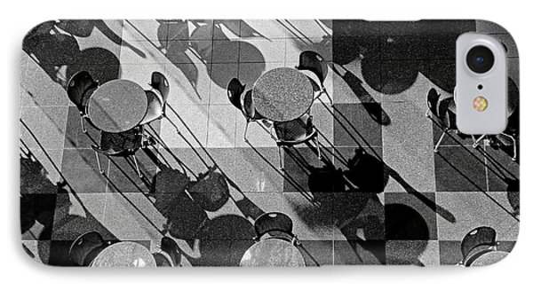 Cafe Tables And Chairs IPhone Case