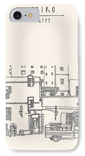 Egyptian iPhone 8 Case - Cairo, Egypt, North Africa. A Man by Babayuka