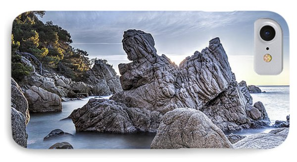 Cala Dels Frares, Lloret De Mar Catalonia IPhone 8 Case