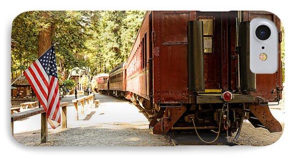 California Western Railroad IPhone Case