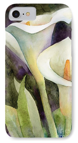 Lily iPhone 8 Case - Calla Lilies by Amy Kirkpatrick