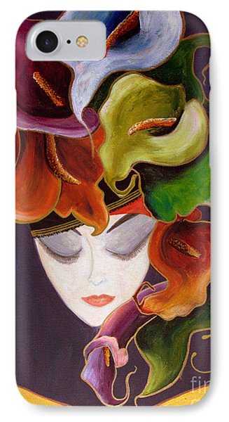 Calla Lily Dame.. IPhone Case