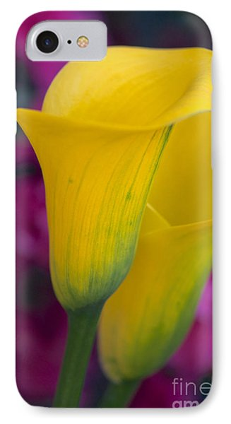Calla Lily - Yellow IPhone Case