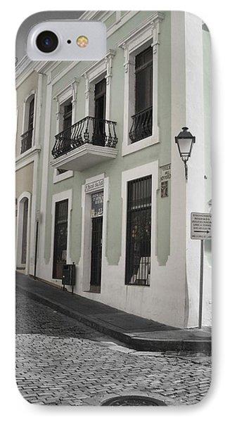 Calle De Luna Y Calle Del Cristo IPhone Case