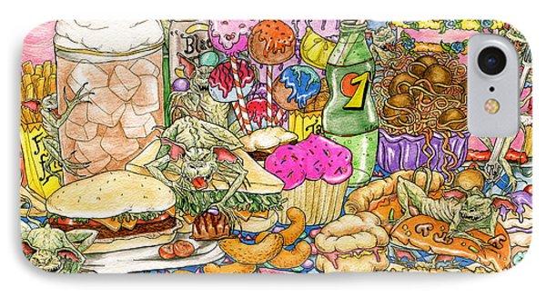 Calorie Gremlins IPhone Case