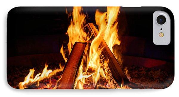 Camp Fire IPhone Case