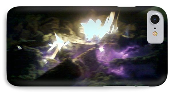Campfire By Angelia Clay IPhone Case