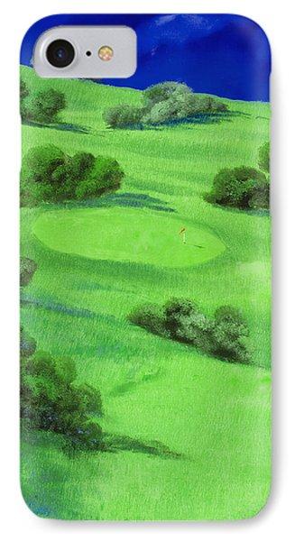 Campo Da Golf Di Notte IPhone Case