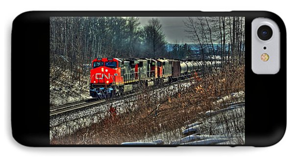 Canadian National Railway IPhone Case