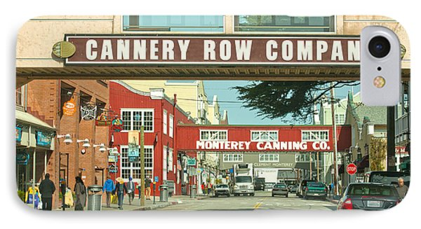 Cannery Row Monterey California IPhone Case