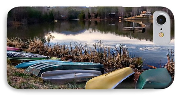 Canoes In Nc IPhone Case