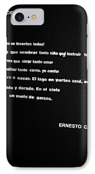 Canto Nacional  IPhone Case