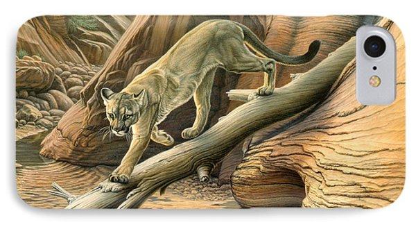 Canyon Hunter -  Cougar IPhone Case