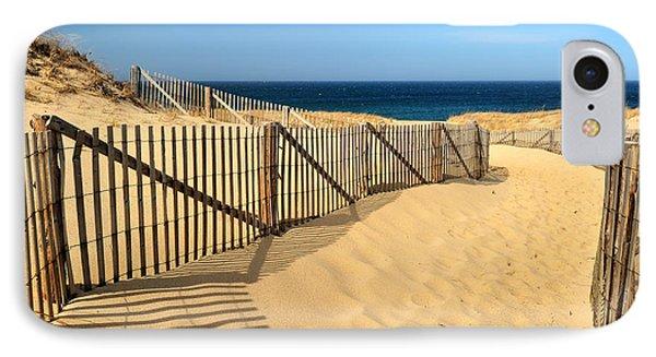 Cape Cod Beach IPhone Case