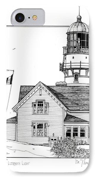 Cape Elizabeth Lighthouse IPhone Case