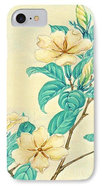 Cape Jasmine 1870 IPhone Case