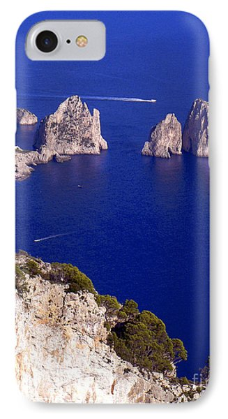 Capri Italy Seascape IPhone Case