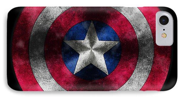 Captain America Shield IPhone Case