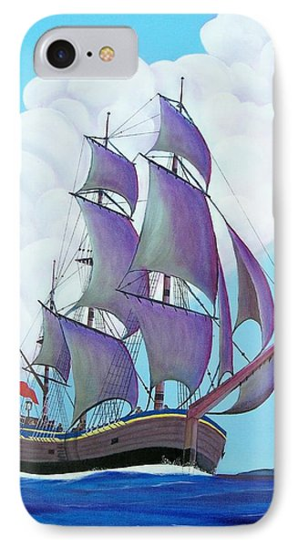 Captain Cook   Endeavor IPhone Case