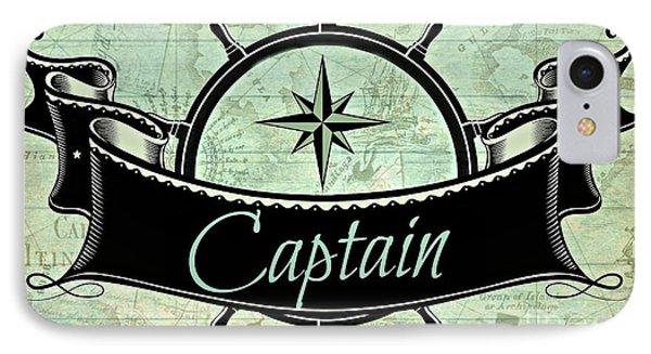 Captain Nautical  IPhone Case