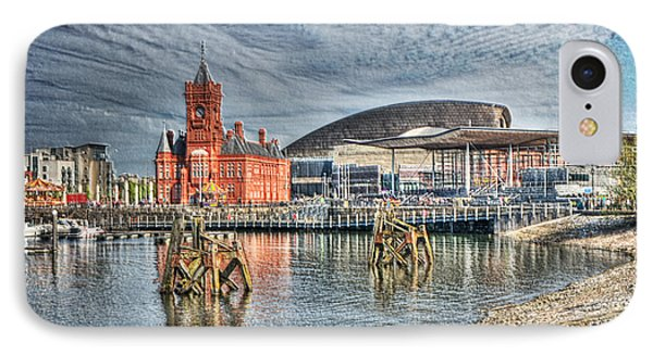 Cardiff Bay Textured IPhone Case