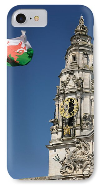 Cardiff City Hall IPhone Case