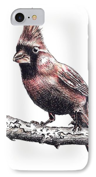 Cardinal Male IPhone Case