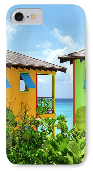 Caribbean Village IPhone Case