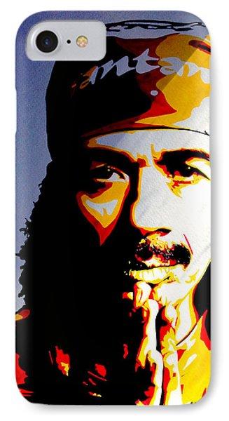 Carlos Santana. IPhone Case