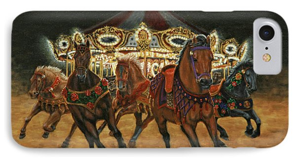Carousel Escape At Night IPhone Case