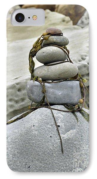 Carpinteria Stones IPhone Case