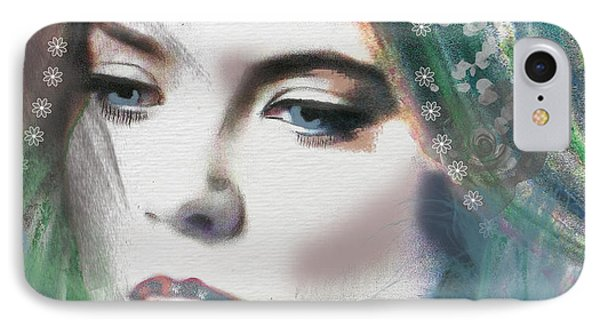 Carrie Under Veil IPhone Case