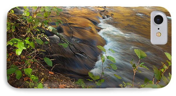 Cascade In The Fork River IPhone Case