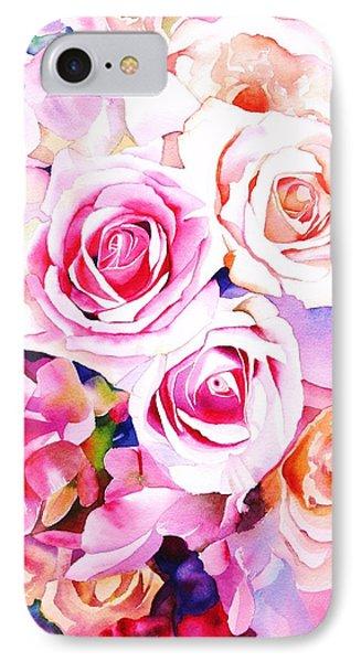 Rose iPhone 8 Case - Cascade by Sarah Bent