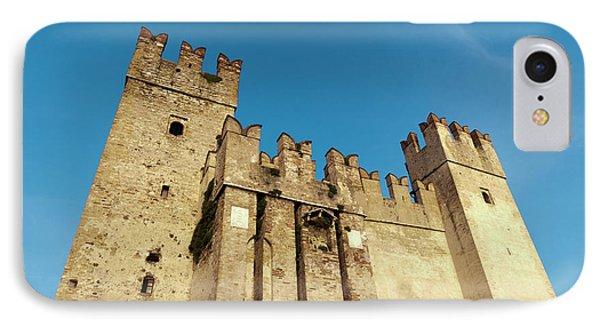 Castello Scaligero, Sirmione, Lago Di IPhone Case