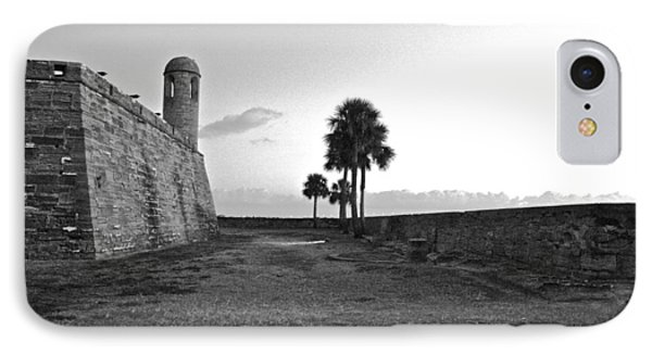 Castillo De San Marcos View 2 IPhone Case