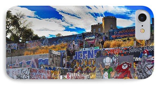 Castle Graffiti Art IPhone Case