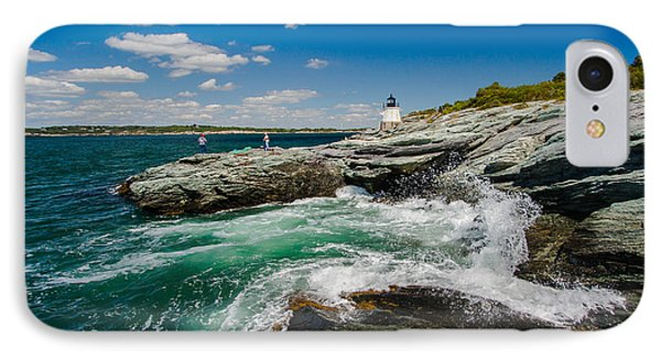 Castle Hill Lighthouse IPhone Case