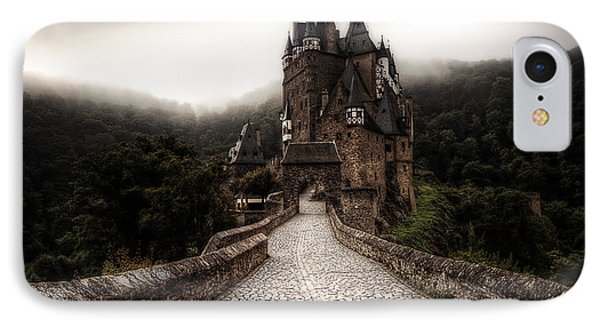 Castle iPhone 8 Case - Castle In The Mist by Ryan Wyckoff