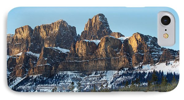 Castle Mountain IPhone Case