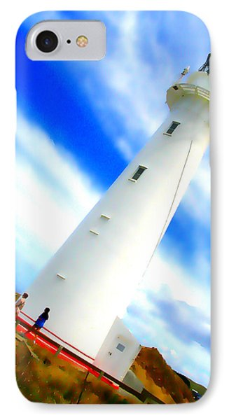 Castle Point Lighthouse IPhone Case
