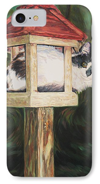 Cat House IPhone Case